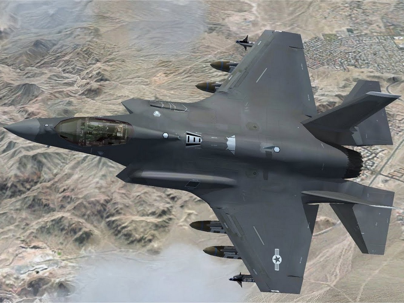 The F 35 Lightening II JSF Project CombatGears