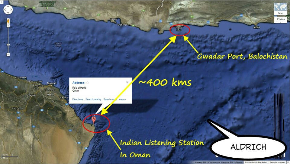 Indian listening station in oman monitoring pakistans naval indspy publicscrutiny Gallery